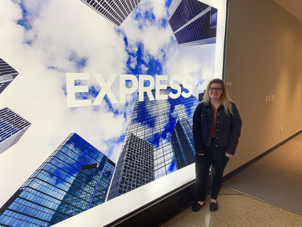 Alexis Garver explores brand marketing at EXPRESS Headquarters