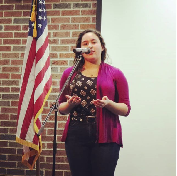 Cafe Advances in Poetry Out Loud Competition