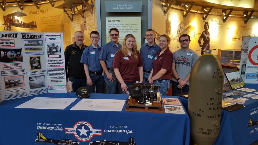 Aviation students participate in U.S. Air Force Family Fun event