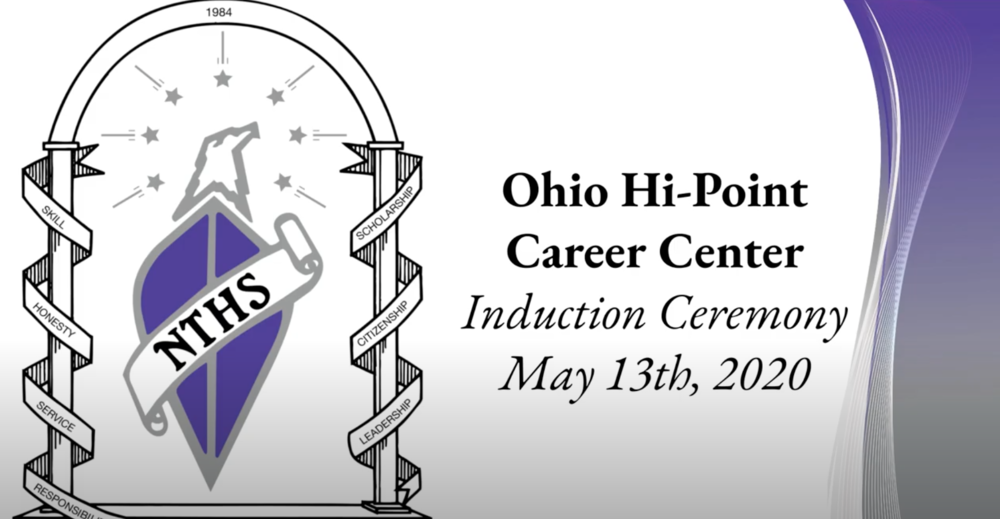 OHP Hosts NTHS Induction Ceremonies