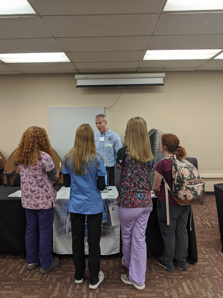 Students Participate in School-Wide Career Fair