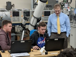 Congressman Jordan visits Ohio Hi-Point manufacturing satellite program