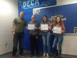 OHP Triad DECA members advance to international competition