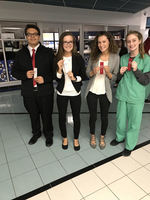 HOSA students advance to state competition
