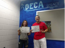 DECA Students Awarded CGSP