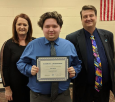 OHP Students, Staff Members of the Month recognized at Board of Education meeting