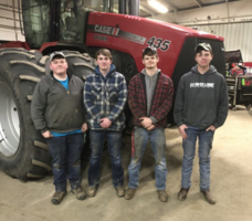 Triad FFA Competes In Ag. Power Diagnostics Contests
