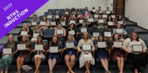 Ohio Hi-Point Career Center inducts school's largest NTHS class